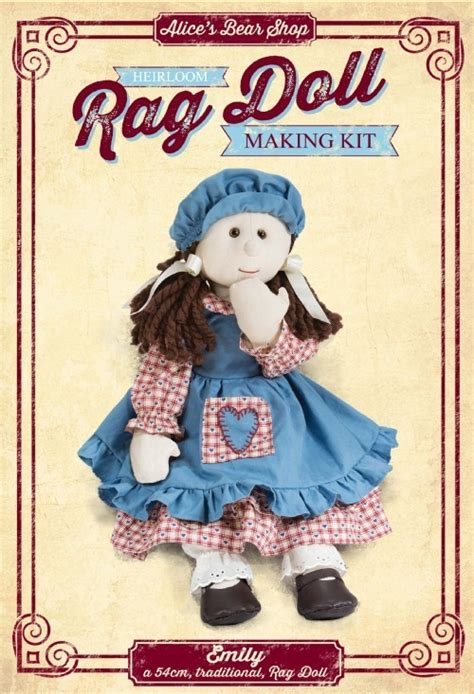 rag doll kit emily rag doll kit the patch