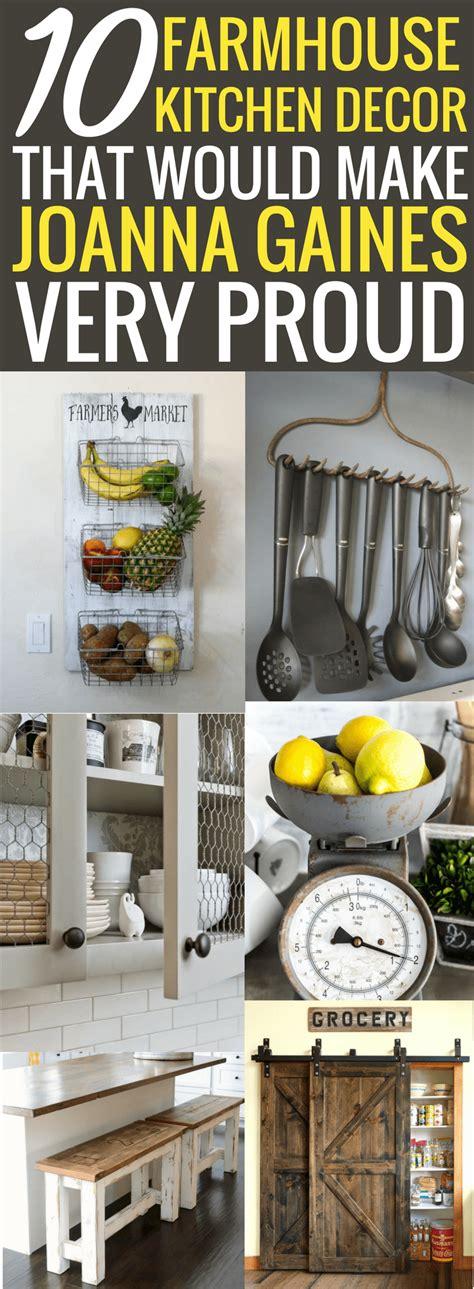 farmhouse kitchen decor ideas    joanna