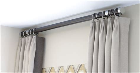 modern curtain rod contemporary curtain rods best home design 2018