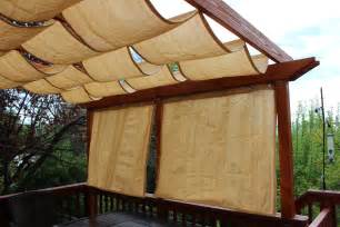 Diy Pergola Shade alfa img showing gt retractable pergola with curtains