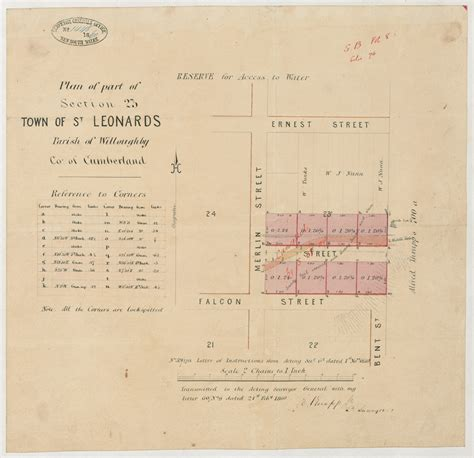 cumberland county section 8 sketch books surveyor general state archives and