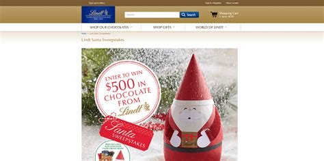 Santa Sweepstakes - sweepstakeslovers daily lindt godfather s pizza pepsi more