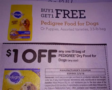 wet dog food coupons printable great deals on pedigree dry wet dog food at publix