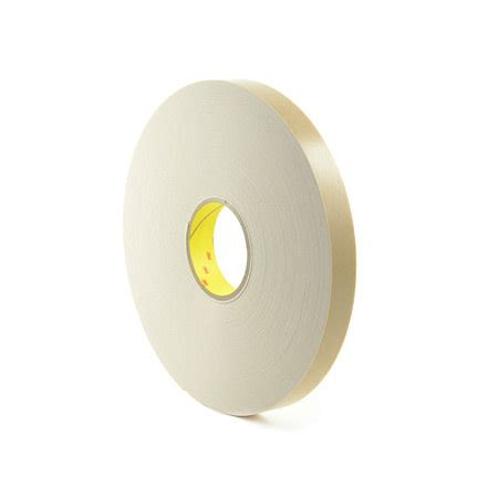 4496 White List by 3m 4496 Coated Polyethylene Foam White 1 In X