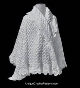 Pattern shawl crochet shell chain stitch easy crochet patterns