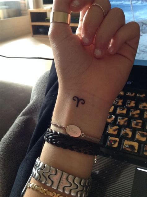 aries sign aries and girly tattoos on pinterest