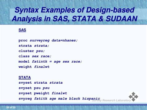 design effect stata ppt introduction to secondary data analysis powerpoint