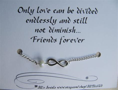friendship infinity quotes frienship infinity charm bracelet a and friendship