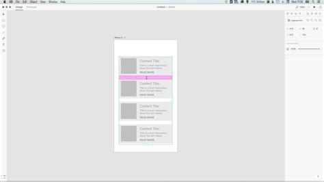 layout grid adobe xd how to use the repeat grid tool in adobe xd peter jonour