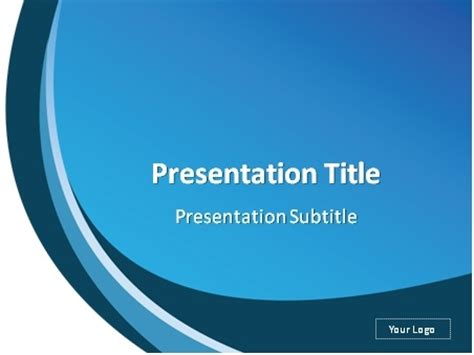 download white and blue abstract background powerpoint