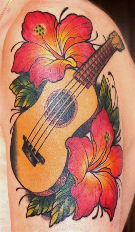 ukulele tattoo shelley rickey uke continued