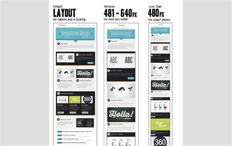 How To Make A Responsive Email Template by 60 Responsive Html Email Newsletter Templates 187 Css Author