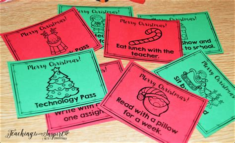christmas activities for upper elementary teaching to