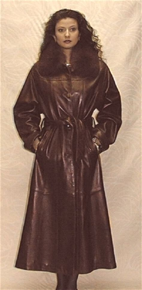 Removable by Leather Coat L 815