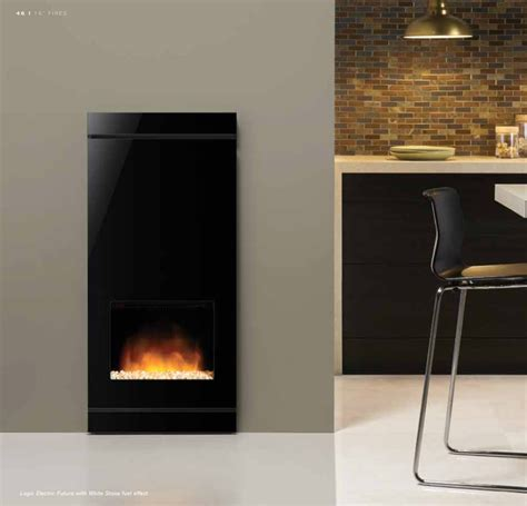 Fuel Electrik Futura logic electric futura fireplace by design