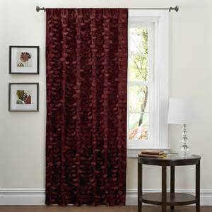 Overstock Kitchen Curtains Lush Decor 84 Inch Lilian Curtain Panel Contemporary Curtains By Overstock