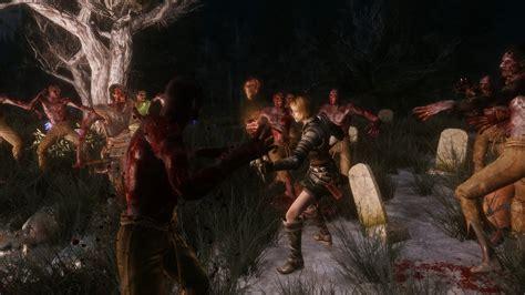 mod game zombie creepy zombies at skyrim nexus mods and community