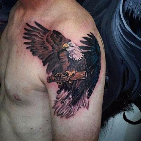 65 Bald Eagle Tattoo Ideas 2018 Bald Eagle Tattoos For