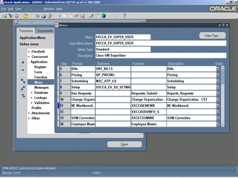 tutorial oracle forms 6i oracle 6i forms and reports software