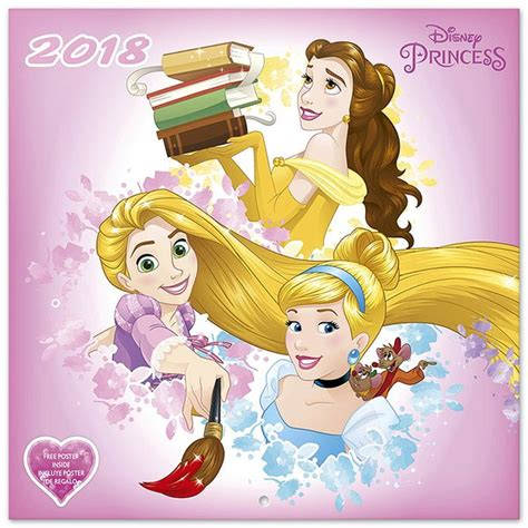 2018 disney princess wall calendar day disney princess calendar 2018 calendars buy now in the