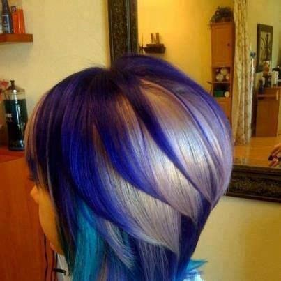 how to add colour chunks to hairstyles straight ombre hair for medium length