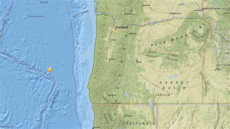 earthquake oregon kgw com 4 9 earthquake strikes off southern oregon coast