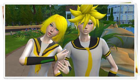 Moods Len by Ng Sims 3 Kagamine Sims 4 Models Clothes