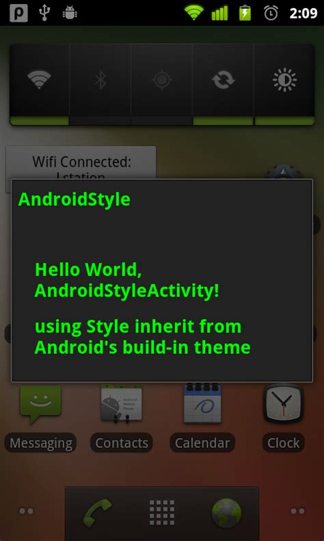 android themes how to create android coding create custom theme inheriting properties