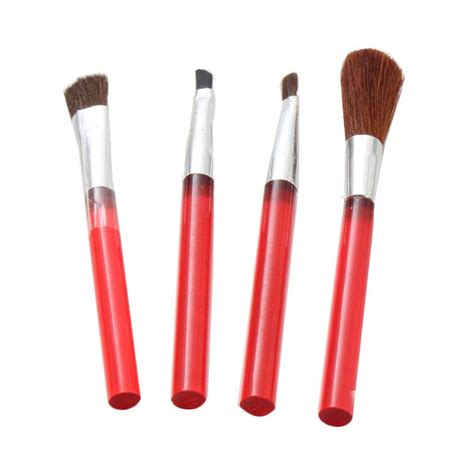 Make Up Brush Set Kuas Kecantikan jual rhomlon 00 369 set aplikator make up kuas brush