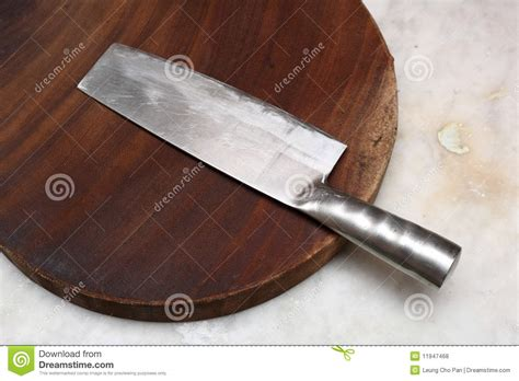 Asian Kitchen Knives by Closeup Image Of Chinese Kitchen Stock Images Royalty