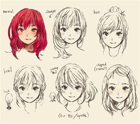 hairstyles art drawing cute doodle hair style manga by geneme on deviantart
