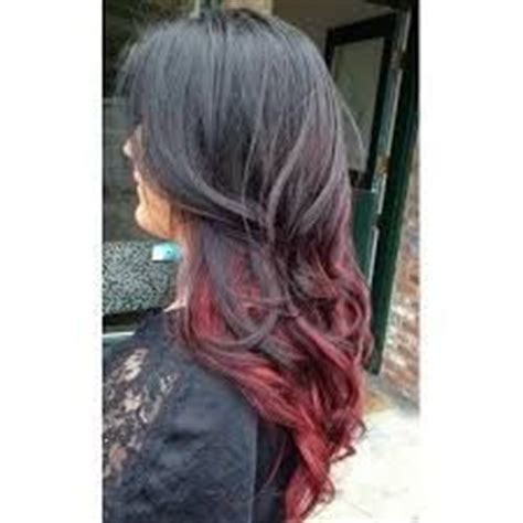 mechas californianas rojas google colors and search on pinterest