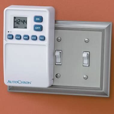 automatic light switch timer no wiring no wiring wall switch timer craziest gadgets