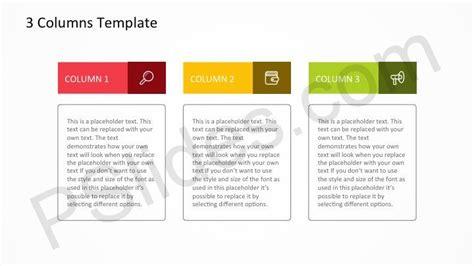 dd 3 5 template list free 3 columns powerpoint template