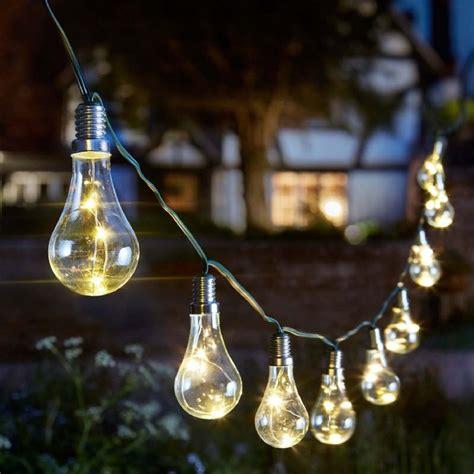 Smart Garden Solar Eureka String Light 10 Led On Sale String Lights On Sale