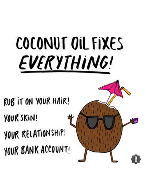 Coconut Oil Meme - coconut oil healthy from the inside out part two the