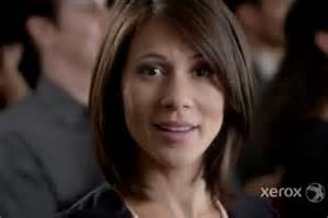 Who s the hot girl in the xerox business services commercial