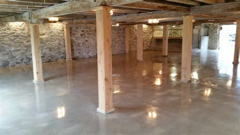 barn floor abrasion resitant concrete greenice cure system