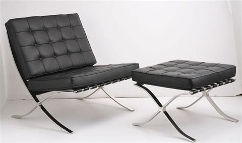 barcelona chair and ottoman walter gropius the bauhaus style noonjes s blog