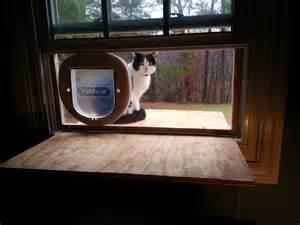 Cat Patio Door by Doug Cone Maker Developer Entrepreneur