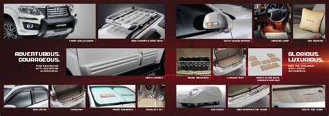 All New Fortuner Tank Cover Exclusive Chrome 06102015 toyota fortuner brochure accessories