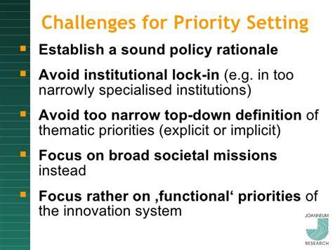priority setter definition polt presentation priority setting vienna 18 02 2010