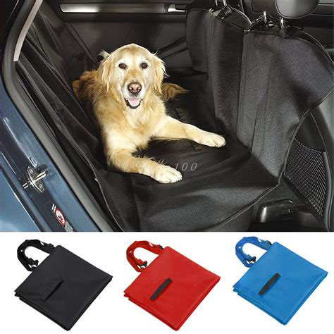 covers for dogs pet car seat cover for rear bench seat waterproof hammock style outdoor car seat
