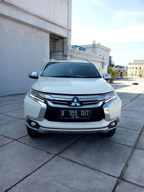 Mitsubishi All New Pajero Sport Talang Air mitsubitshi all new pajero sport dakar mivec diesel matic 2016 putih mobilbekas