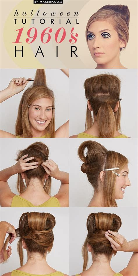 1950 hairstyles for long hair step by step halloween tutorial 1960 s beauty hairspray hair style