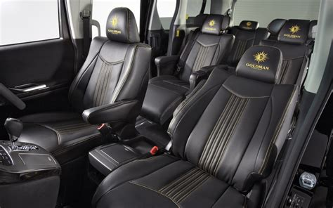 Interior Of Toyota Special Seat For Vellfire Interior Goldman Cruise