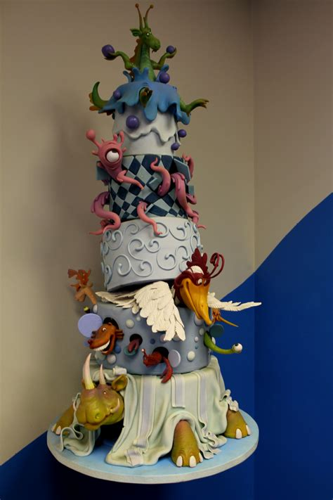 Amazing Cakes by Mike S Amazing Cakes Structures Class Cakestories Ca