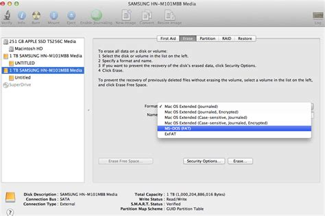 format fat32 with mac how to share an external drive between a mac and a pc