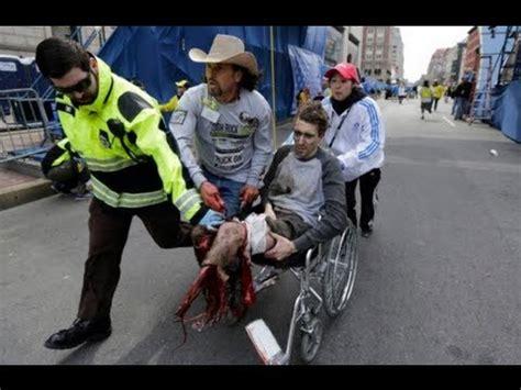 Fifteen Waiter Running The Marathon 2 by Boston Marathon Explosion 15 2 2013 Terror Act