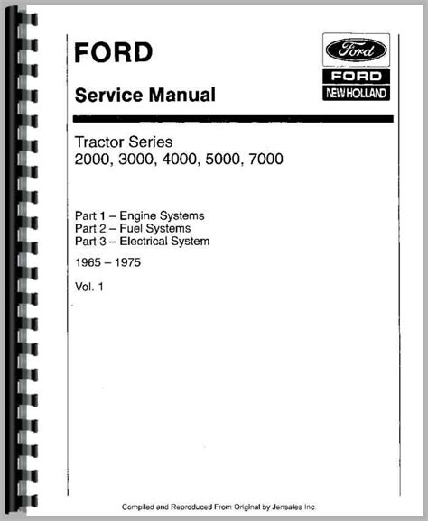 ford 3000 tractor manual ford 3000 tractor service manual